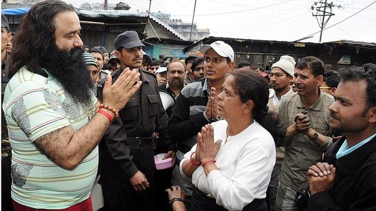 Indie: popularny guru skazany na 20 lat więzienia za gwałty