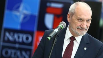 20-06-2016 11:34 Macierewicz: bezpieczeństwo NATO jest całościowe, nie można skupiać się tylko na Wschodzie