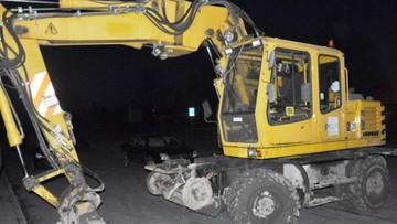 19-03-2016 10:28 Złodzieje ukradli koparkę za 300 tys. Policjanci ją odzyskali