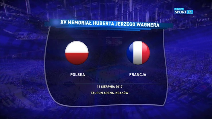 2017-08-11 Memoriał Wagnera: Polska - Francja 2:3. Skrót meczu