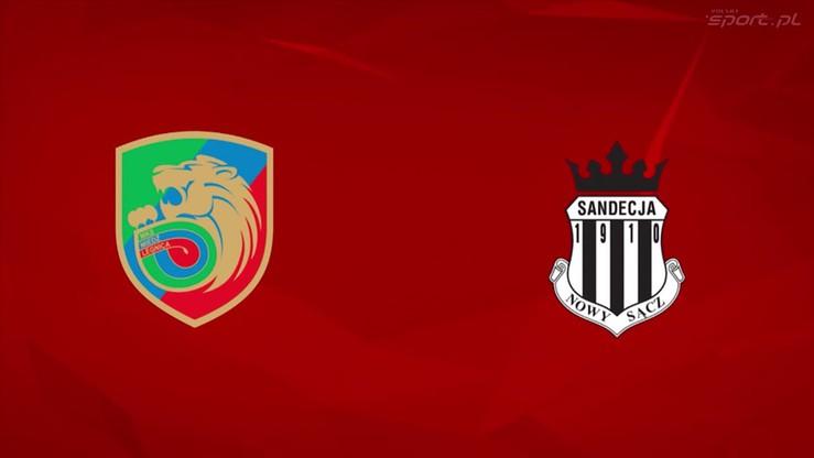 2016-05-12 Miedź Legnica - Sandecja Nowy Sącz 3:1. Skrót meczu