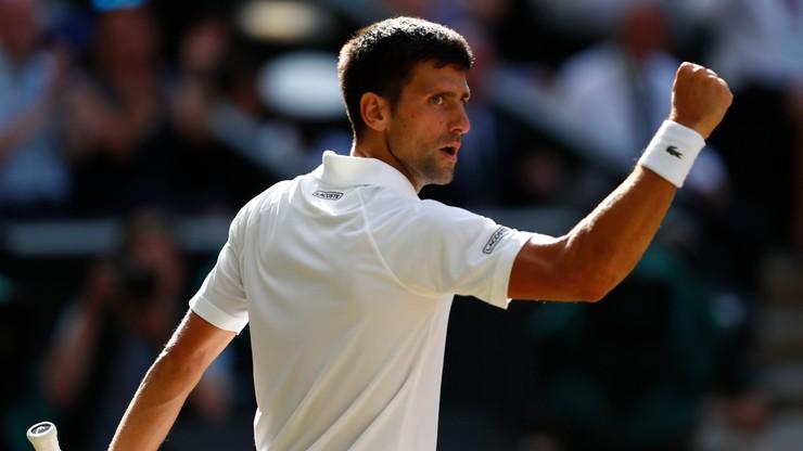 Wimbledon: Djokovic bez straty seta melduje się w kolejnej rundzie