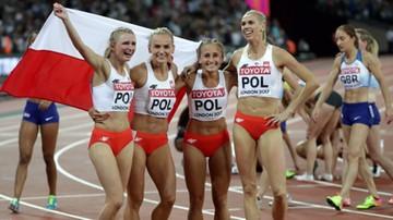 13-08-2017 22:10 Lekkoatletyczne MŚ: Polki z brązowym medalem w sztafecie 4x400 m