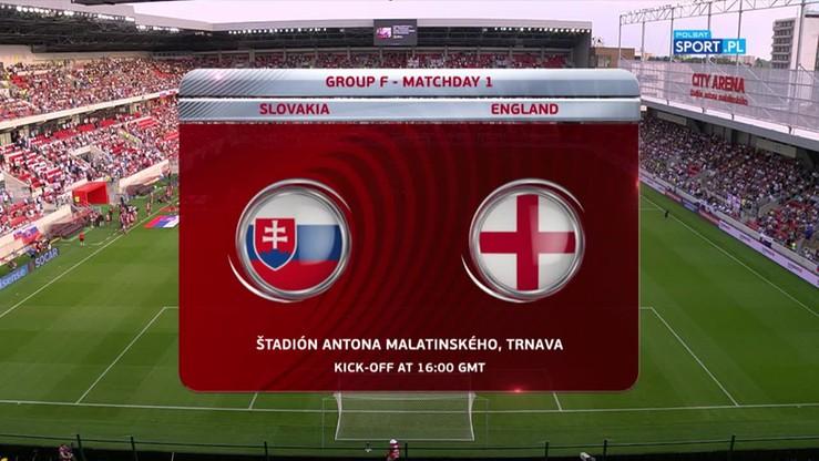 2016-09-04 Słowacja - Anglia 0:1. Skrót meczu