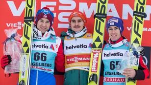 Kamil Stoch drugi w Engelbergu, zwycięstwo Freitaga