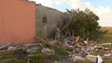 Obraz zniszczeń po nawałnicach widziany z Newscoptera Polsat News