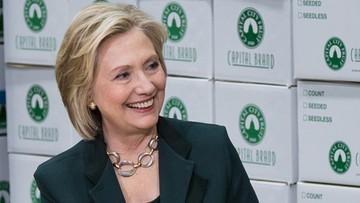 Mimo porażki Clinton prowadzi pod względem delegatów
