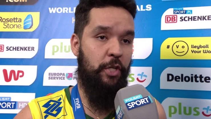 William Arjona: Graliśmy najlepszą siatkówkę, ale to nie wystarczyło