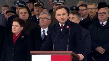Prezydent: niepodległość Polski była dorobkiem pokoleń