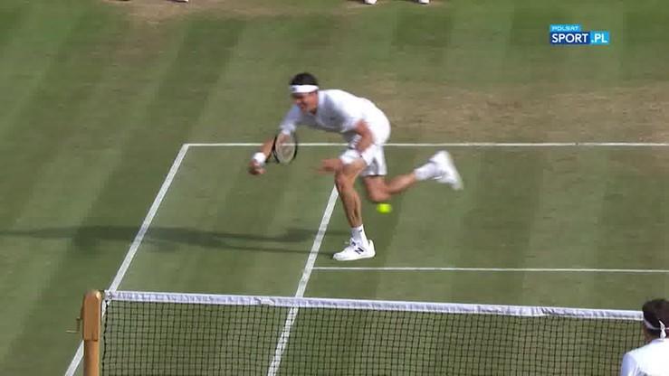 Co za wymiana! Raonic kapitalnie minął Federera