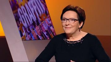16-02-2016 09:25 Kopacz o tzw. planie Morawieckiego: nierealny, jak obietnice wyborcze PiS