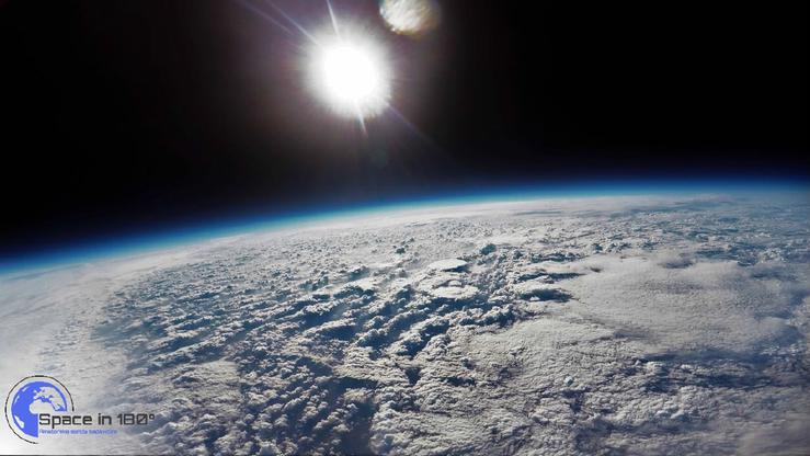 Sonda 16-latka nagrała film w stratosferze. Publikujemy to nagranie