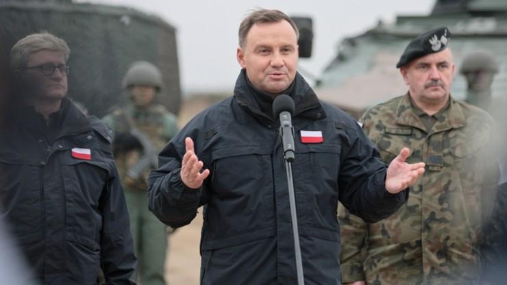 Prezydent Duda: jesteśmy przygotowani do obrony państw NATO