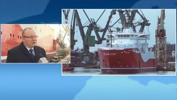 27-04-2016 13:03 Chrzest najdroższego statku w historii polskich stoczni