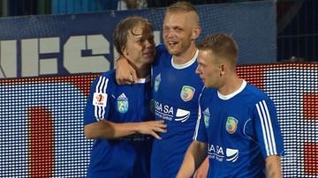 2016-07-29 1 liga: Szczęście też jest ważne! Bartczak strzelcem pierwszego gola w sezonie (WIDEO)
