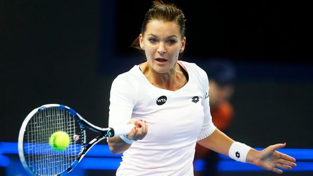 Turniej WTA w Shenzen: Radwańska awansowała do drugiej rundy