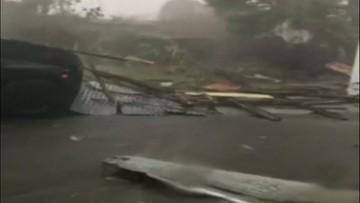 20-09-2017 15:51 Huragan Maria uderzył w Portoryko. Poważne zniszczenia