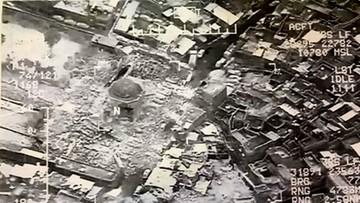 21-06-2017 22:12 Dżihadyści wysadzili wielki meczet w Mosulu
