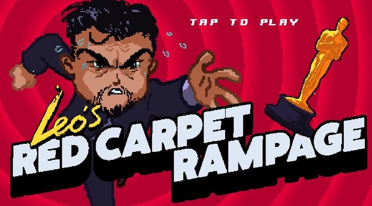 Zostań Leonardo DiCaprio i dogoń Oscara. Internetowa gra platformowa