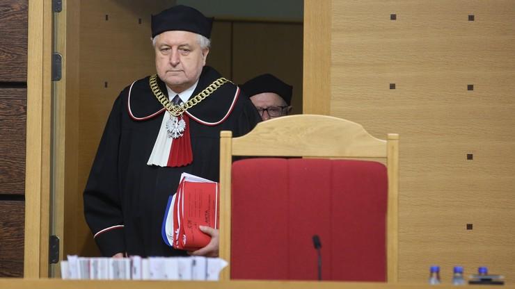 Sasin: to nie wyrok Trybunału, tylko opinia części sędziów TK