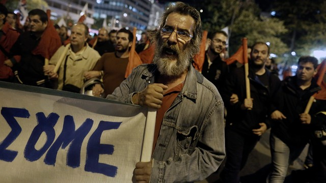 Grecja: w Atenach demonstrowano przeciwko polityce oszczędności