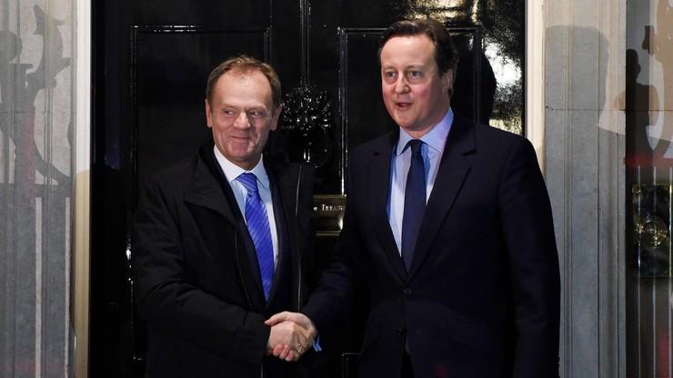 Jest projekt porozumienia z Wielką Brytanią. KE zaproponuje ograniczenie świadczeń dla nowych imigrantów