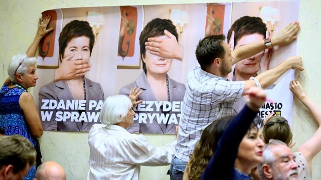 Nowoczesna: To ostatni moment na honorową dymisję prezydent Warszawy