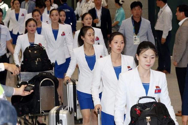 Igrzyska Azjatyckie - Korea Płn. przekracza granicę