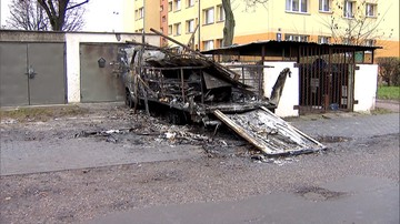 Pożar foodtrucka w Gdańsku. Niepełnosprawni mieli się w nim uczyć piec toruńskie pierniki