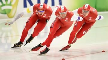 2015-12-05 Puchar Świata w łyżwiarstwie szybkim: Upadek Bródki w biegu na 1000 m