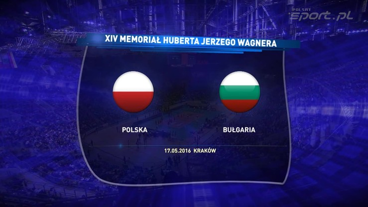 2016-05-17 Polska - Bułgaria 2:3. Skrót meczu