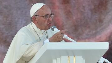 """30-07-2016 22:13 """"Nasza odpowiedź na świat w stanie wojny: przyjaźń i braterstwo"""". Papież podczas czuwania modlitewnego"""