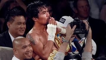 2017-01-11 Pacquiao wraca na ring w kwietniu!