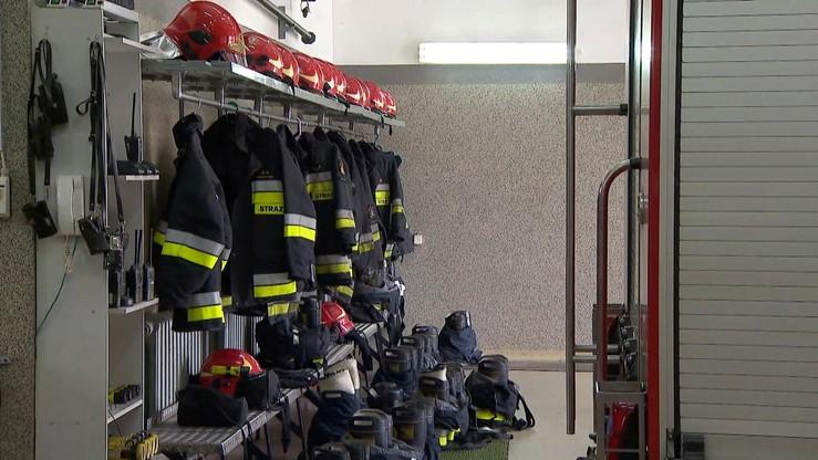 Pogrzeb strażaków z Białegostoku. Zostali pośmiertnie awansowani do stopnia ogniomistrza