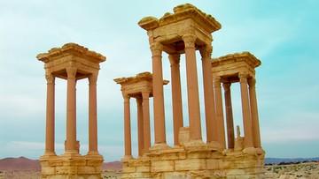 20-01-2017 10:54 Dżihadyści wysadzili najsłynniejszy zabytek Palmiry