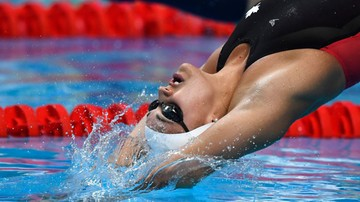 2017-07-25 MŚ w pływaniu: Rekord świata Kylie Masse na 100 m stylem grzbietowym