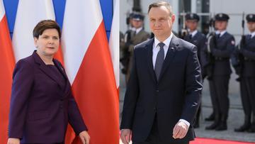 22-05-2017 11:35 CBOS: Duda, Szydło i Kukiz na czele rankingu zaufania; Macierewicz - nieufności