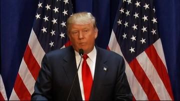 30-11-2016 05:54 Trump chce odbierać obywatelstwo USA za spalenie flagi