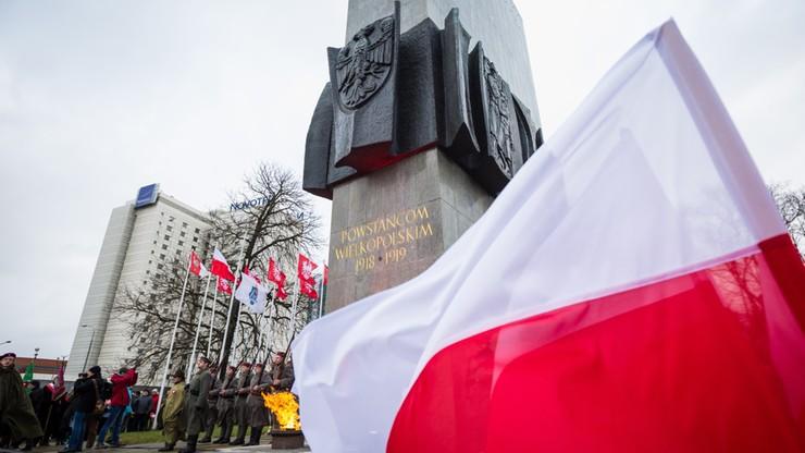98. rocznica wybuchu powstania wielkopolskiego. Spór o apel smoleński podczas obchodów