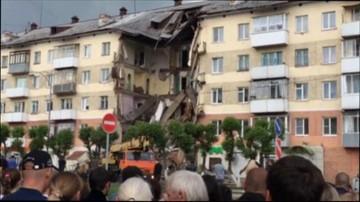 31-05-2016 21:42 Zawalił się fragment bloku mieszkalnego w Rosji. Są ranni