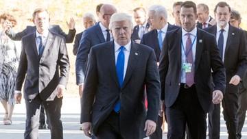26-05-2017 08:06 Trump zbawieniem czy wrogiem Sojuszu? Niemiecka prasa po szczycie NATO