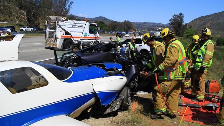 USA: samolot uderzył w samochód. Zginęła pasażerka