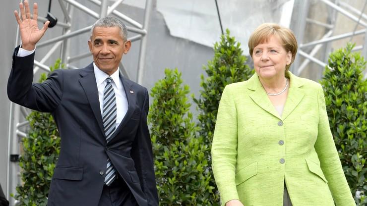 Obama w Berlinie: pomagajmy migrantom w ich krajach