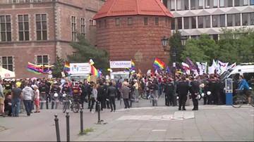 Gdańsk: starcia między policją a narodowcami