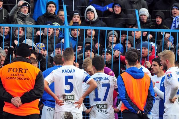 Kibice Lecha Poznań ukarani za mecz z Legią
