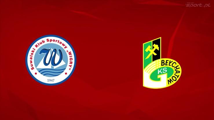 2016-05-12 Wigry Suwałki - GKS Bełchatów 2:2. Skrót meczu