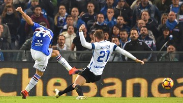 2016-10-30 Serie A: Linetty asystuje, Sampdoria ogrywa Inter!