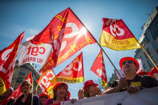 Francja: kumulacja strajków