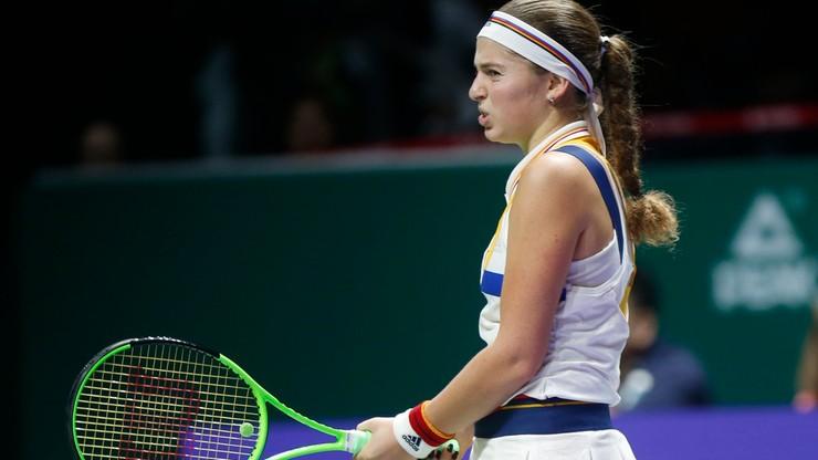 WTA Finals: Wyniki niedzielnych meczów