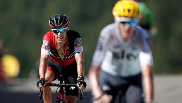 10-07-2017 05:09 Groźny upadek zawodnika Tour de France. Leczenie zajmie ponad miesiąc